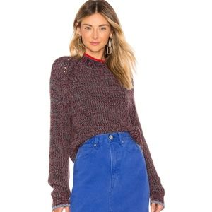 NEW Rag & Bone Ilana Crew Knit Sweater Small